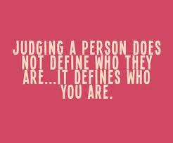 a judging