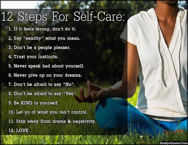 a self-care